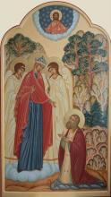 Явление Божией Матери святому Серафиму Саровскому