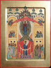 Икона Покрова Божией Матери.